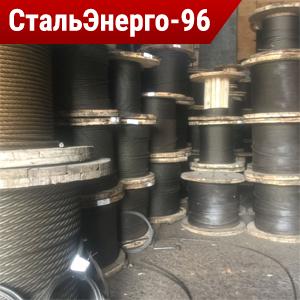 Канат двойной свивки типа ЛК-О ГОСТ 3069-80
